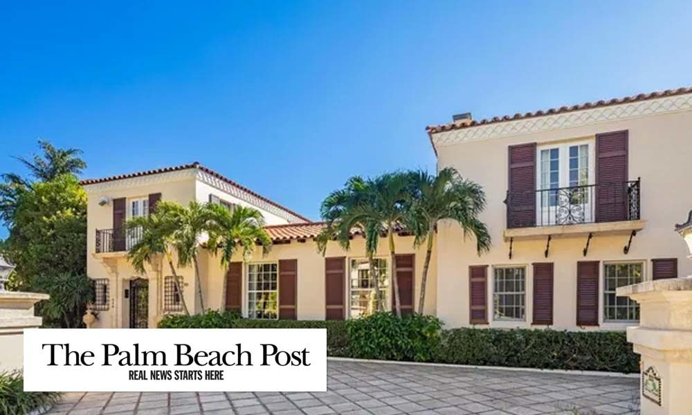 Million-dollar listings: Landmarked house brings $8M in Palm Beach's Estate Section