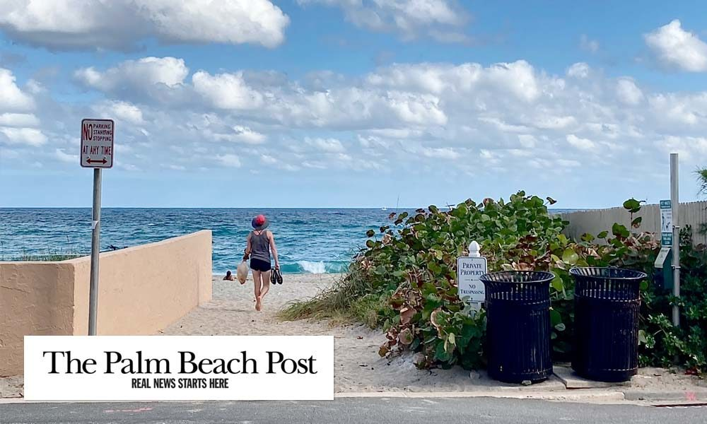 Palm Beach: Root Trail Beach Entrance Open to Public for Now, but Ownership Dispute Swirls