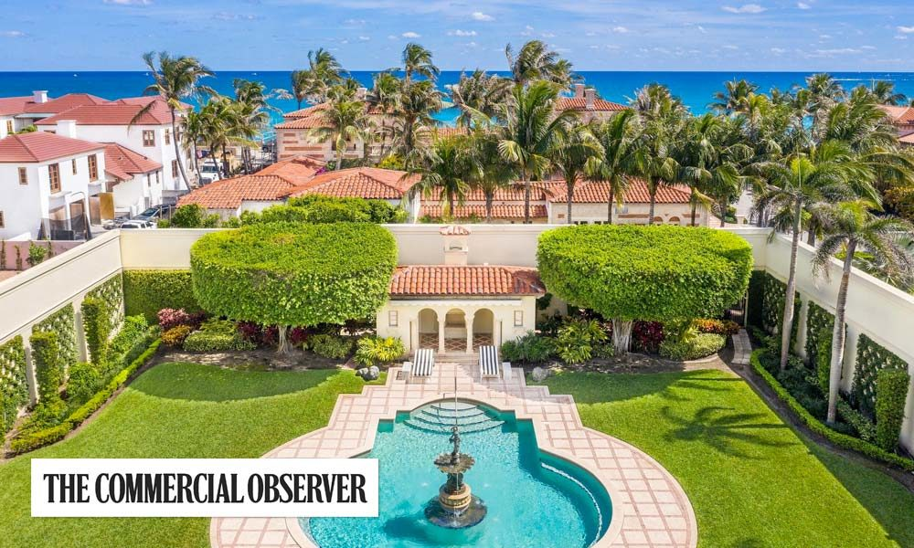 Luxury Home Prices Skyrocket in Palm Beach With Buyers 'Off to the Races'