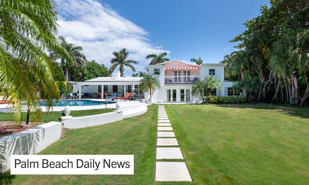 Palm Beach house sells for double what it fetched last year — and may be a tear-down